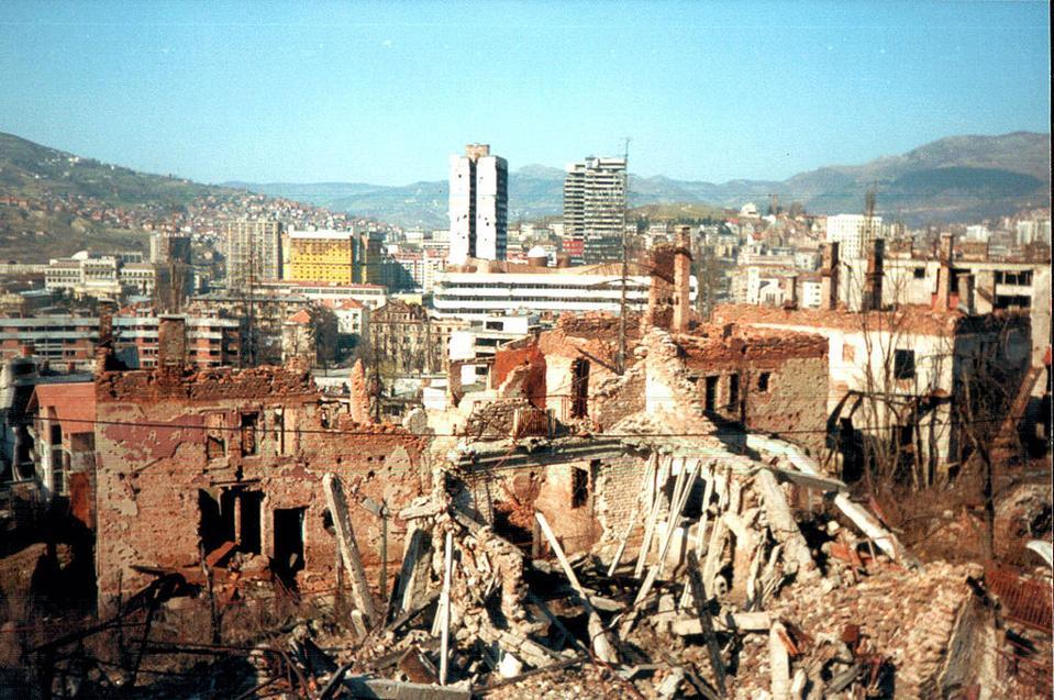 Destroyed District of Sarajevo