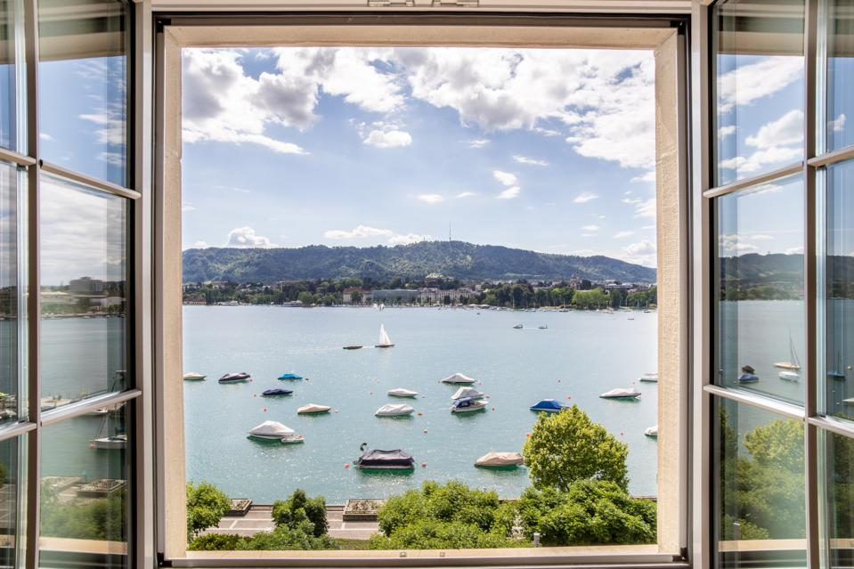 View from Paracelsus Recovery in Zurich.