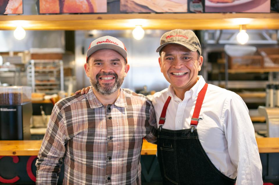 La Panaderia owners David and Jose Cáceres