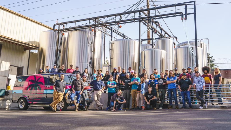 Washington's Silver City Brewing produced 25.500 barrels of beer last year and has won numerous awards for its brews.