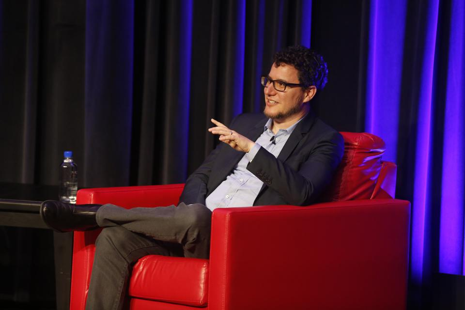 Eric Ries seated