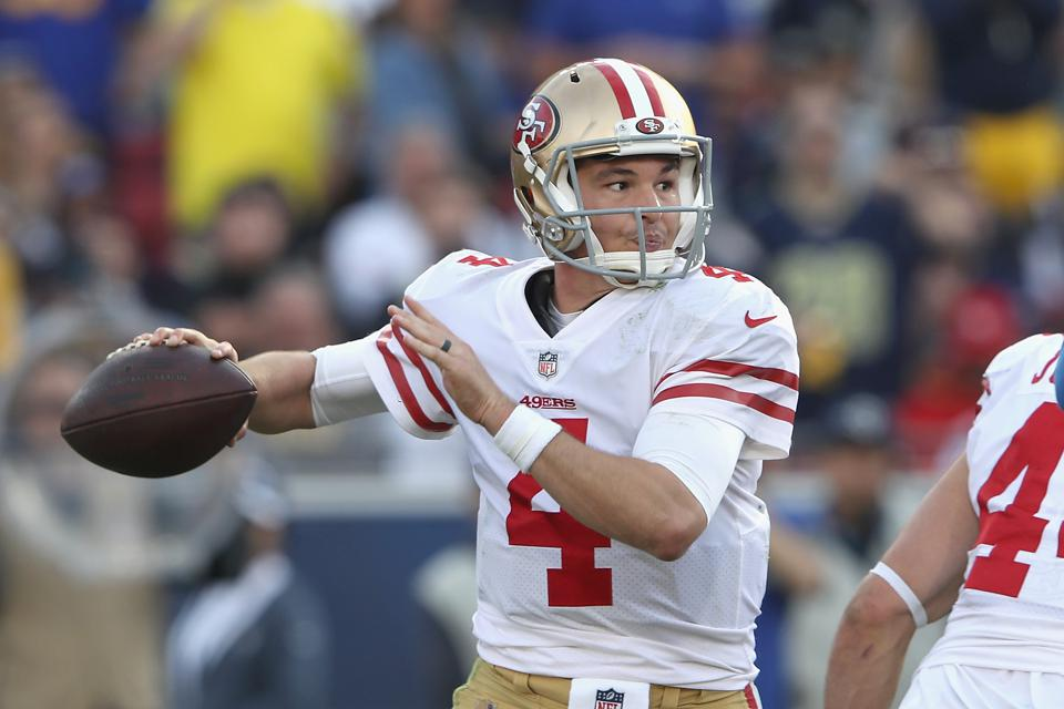 Nick Mullens to start for 49ers