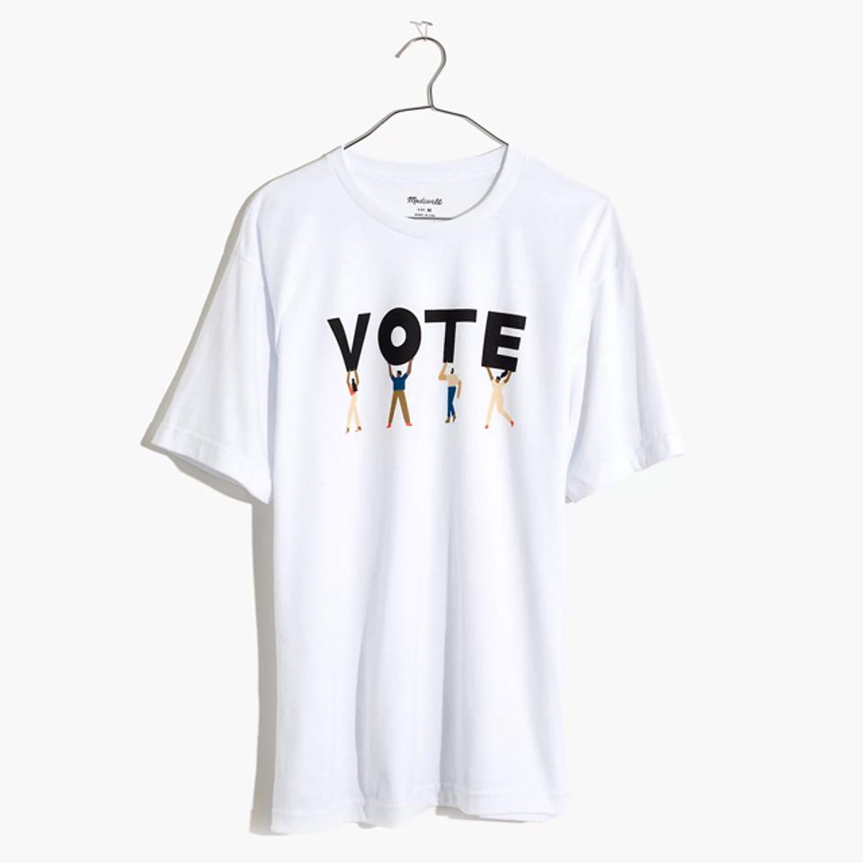 Madewell Vote Graphic Unisex Tee