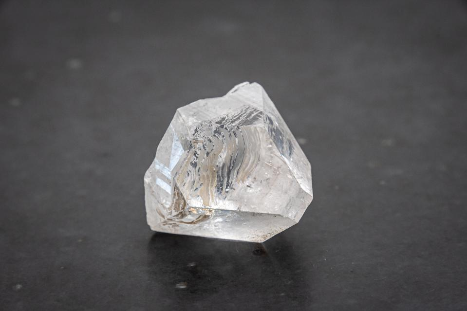 Dob rough diamond formed by volcanic heat and pressure inside earth