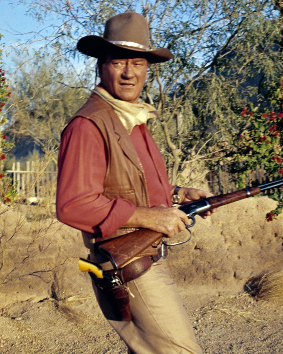 John Wayne In 'El Dorado'