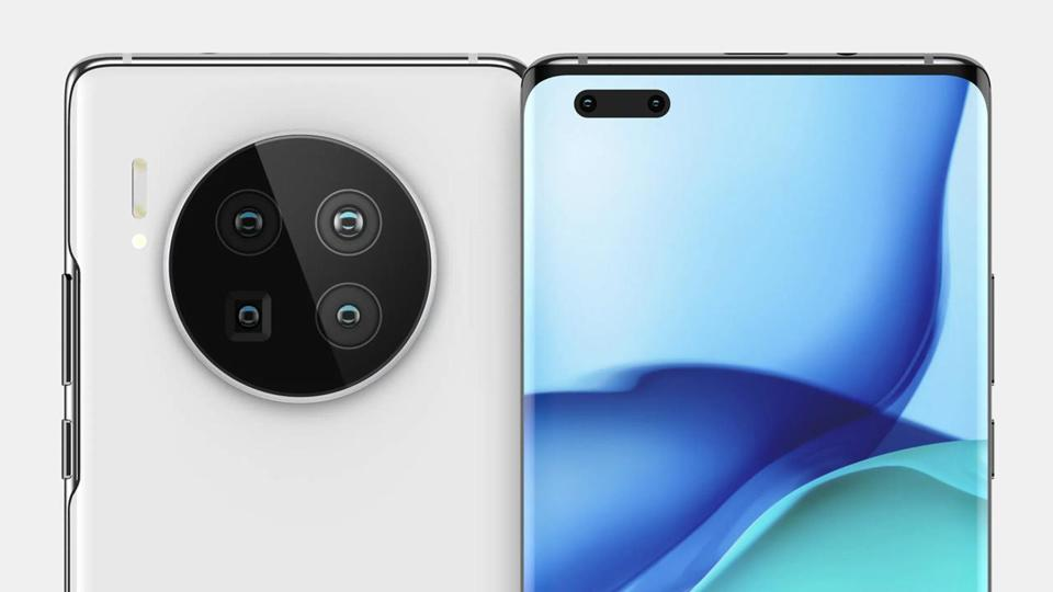Huawei Mate 40 Pro, allegedly.