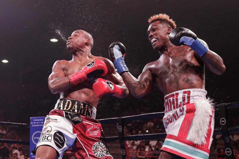 Jermall Charlo vs Sergiy Derevyanchenko live results odds records prediction how to watch