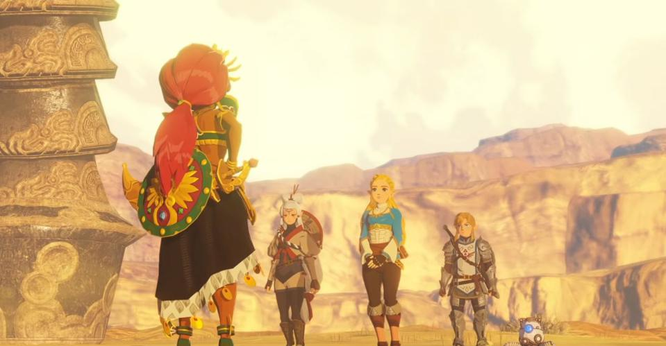 I'm Starting To Actually Get Excited About 'Hyrule Warriors: Age Of Calamity '