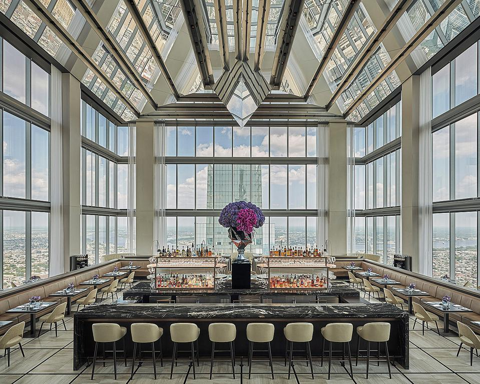 Four Seasons Hotel Philadelphia at Comcast Center JG Sky High Jean-Georges Vongerichten