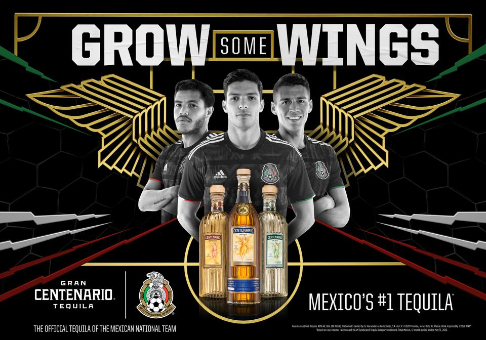 Gran Centenario and the Mexican National Team will celebrate the spirit of Mexico across the U.S.