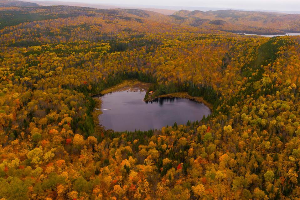 Mauricie National Park, Quebec fall foliage Canada