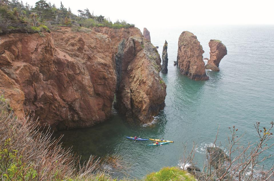 Cape Chignecto, Cliffs of Fundy fall foliage best Canada