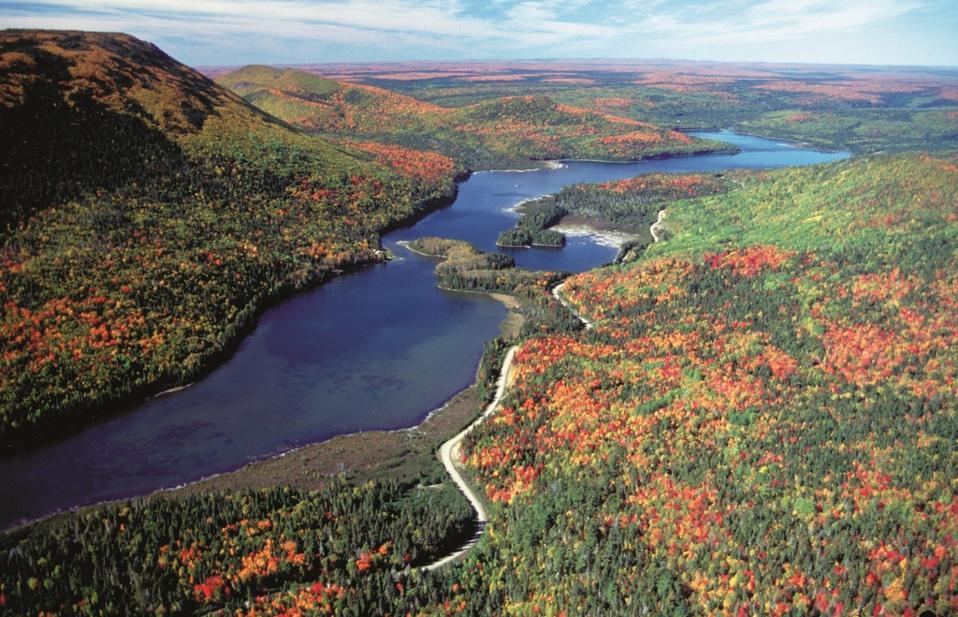 The Fundy Trail, New Brunswick fall foliage