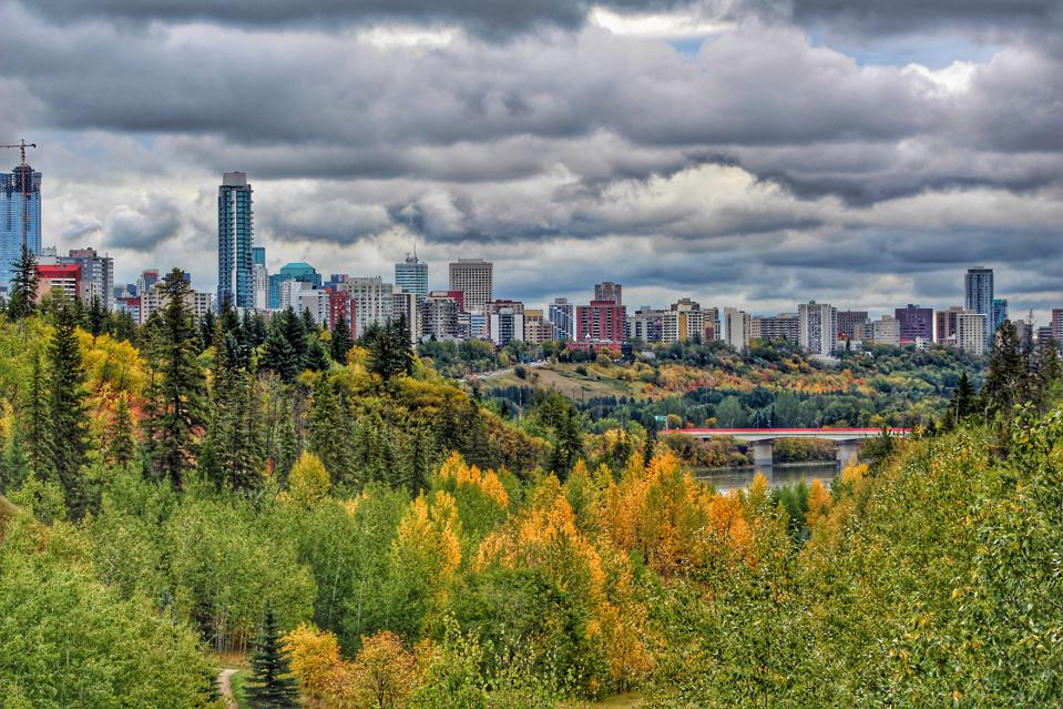 Edmonton fall foliage Canada best folliage