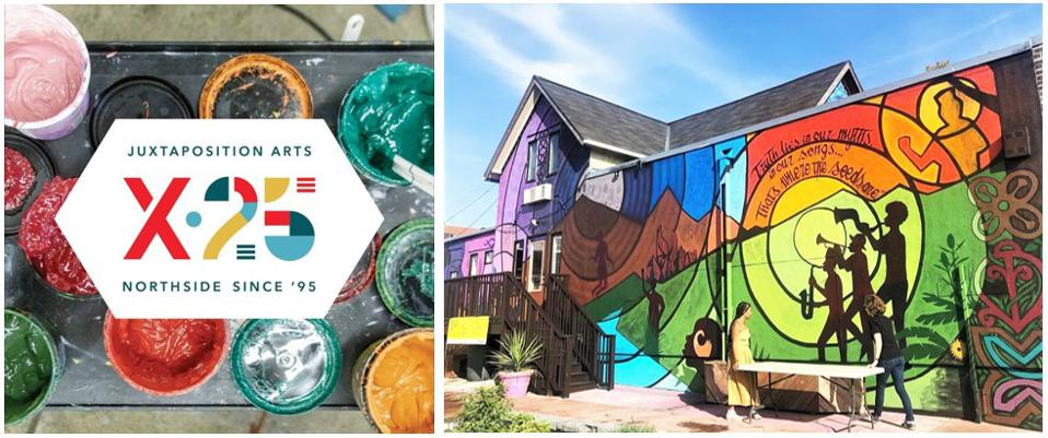 Juxtaposition Arts now in its 25th year will contribute artwork to MOA's Community Commons