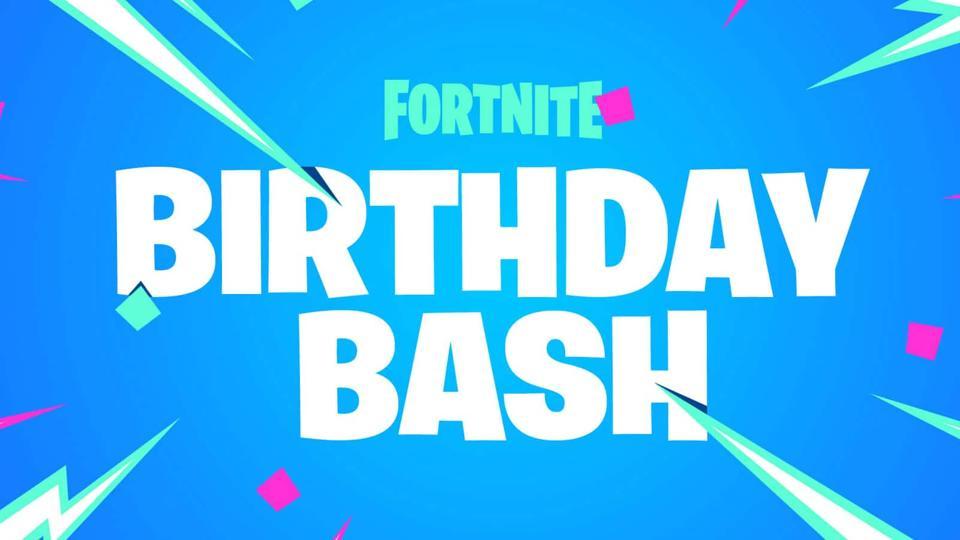 Fortnite Birthday Bash