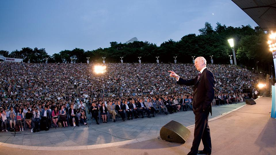Michael Sandel in South Korea