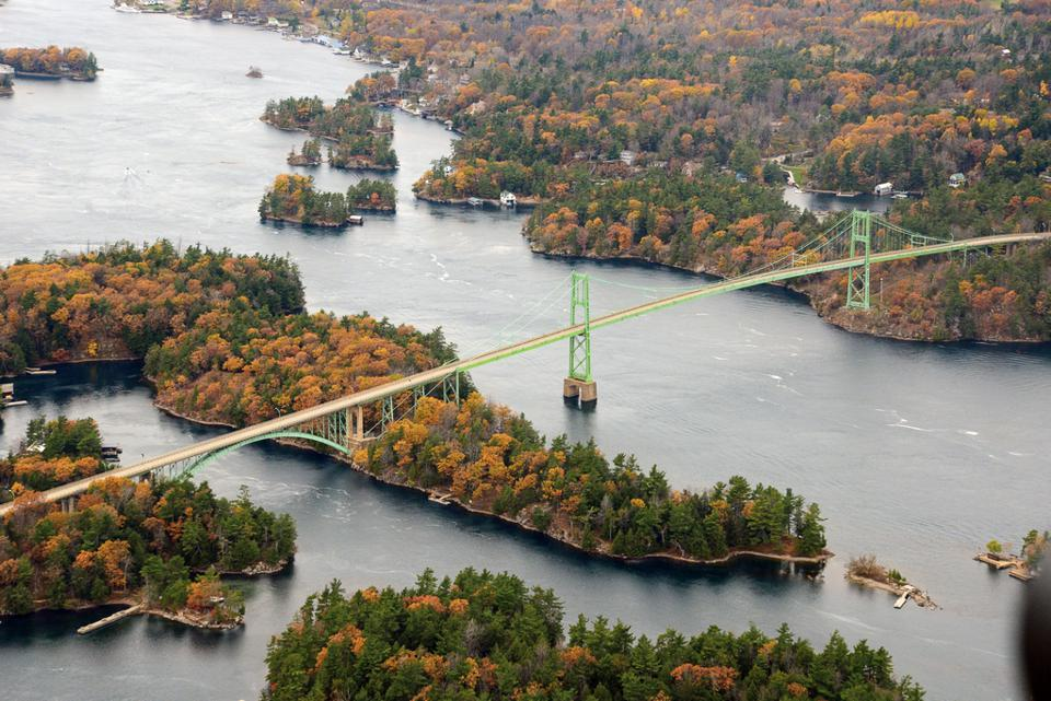 Thousand Islands, Ontario fall foliage best in Canada