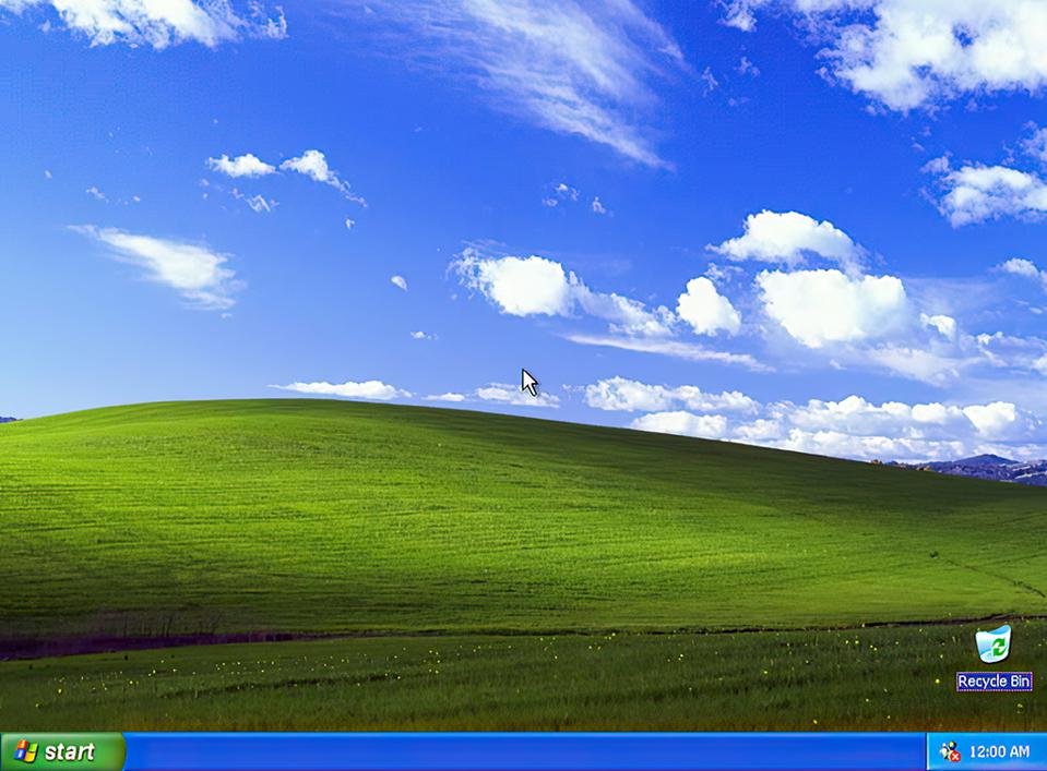 Windows XP's Desktop