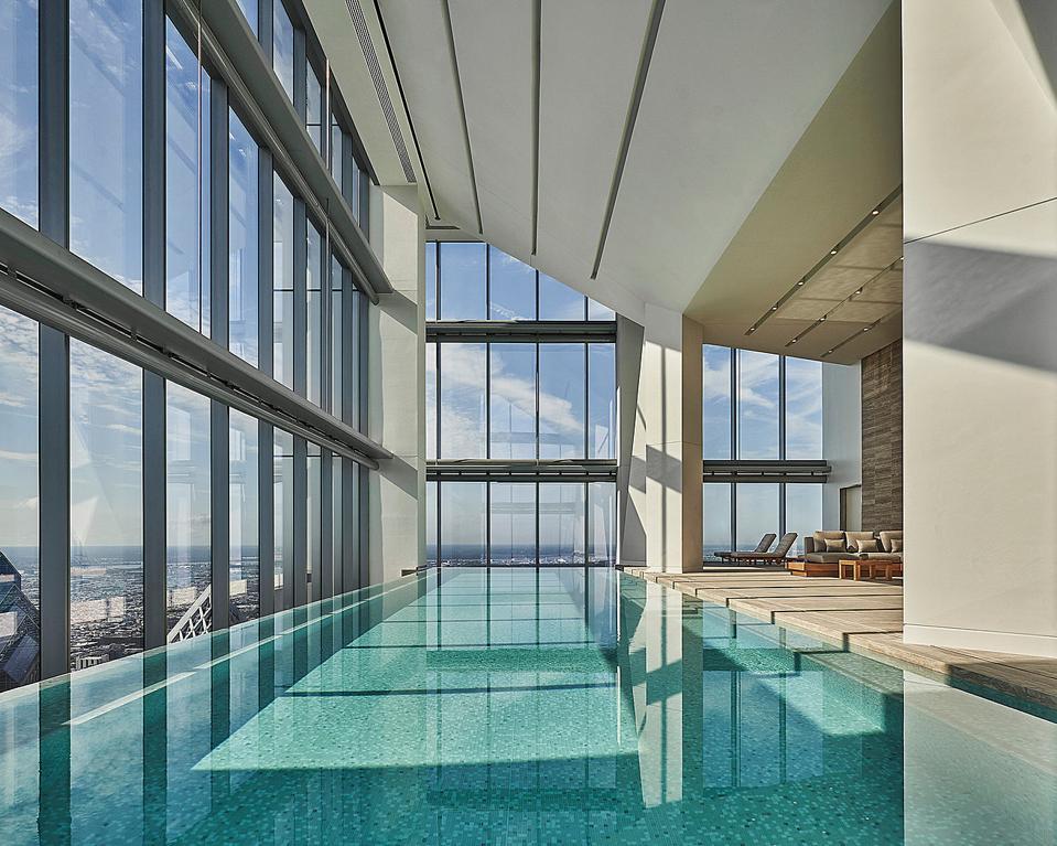 Four Seasons Hotel Philadelphia at Comcast Center Forbes Travel Guide 2021 Five Star Award