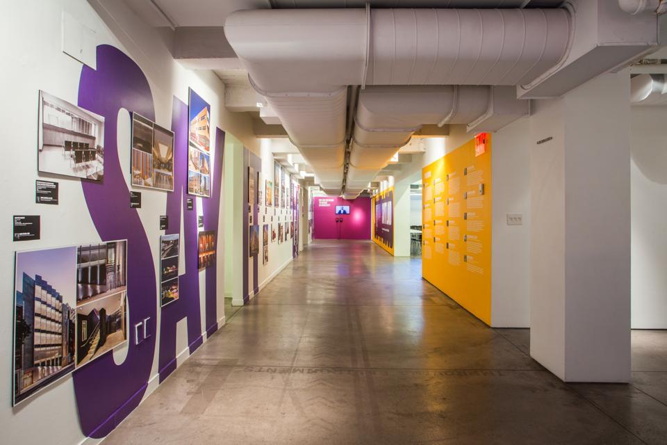 exhibit in hallway