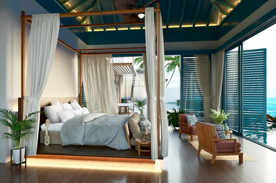 Inside the new Royal Residence at Raffles Maldives Meradhoo