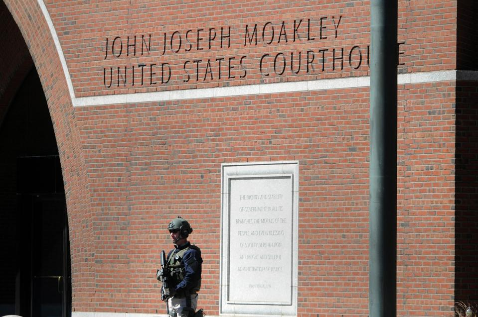 The John Joseph Moakley Courthouse in Boston where Martin Gottesfeld was convicted after trial