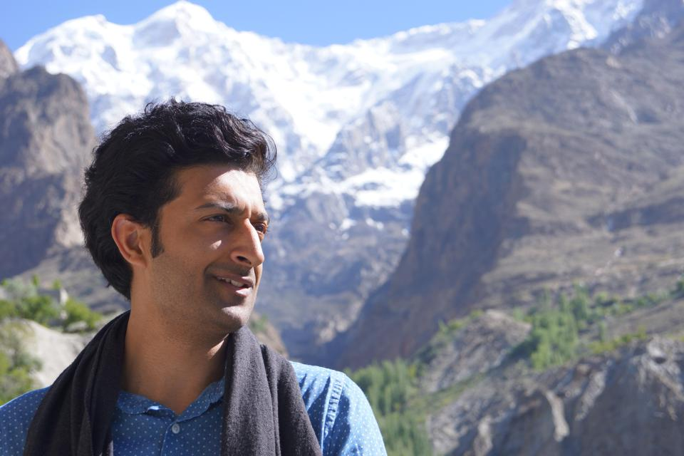 A profile shot of Adil iqbal.