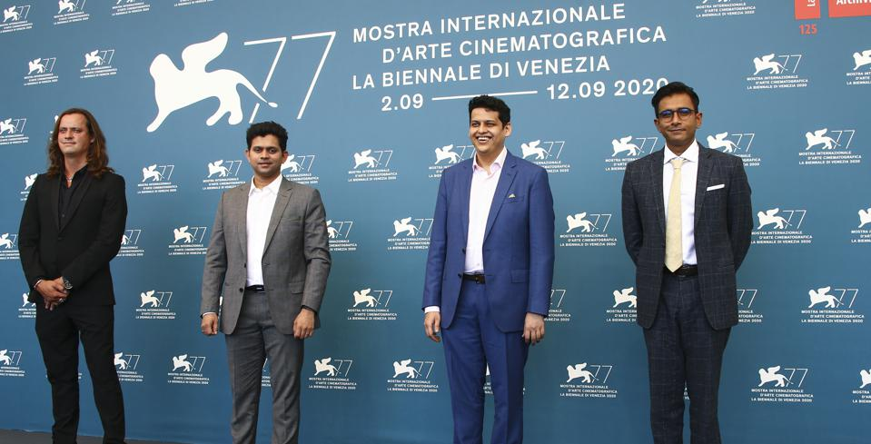 Director Chaitanya Tamhane and his team premiered 'The Disciple' during the 77th edition of the Venice Film Festival.