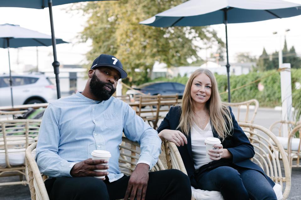 Baron Davis (left) and Ksenia Yudina (right)