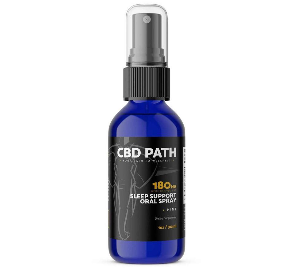 cbd path SLEEP SUPPORT ORAL SPRAY 180MG CBD melatonin natural insomnia supplement