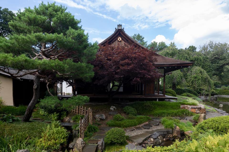 Shofuso Japanese House and Garden.