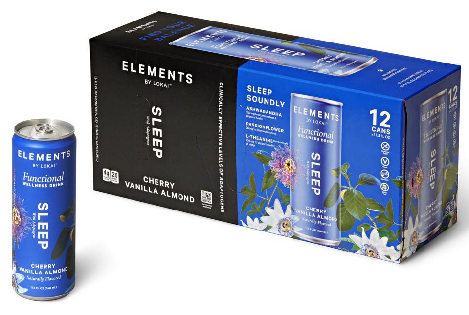 Elements by lokai Sleep Drink adaptogens wellness natural
