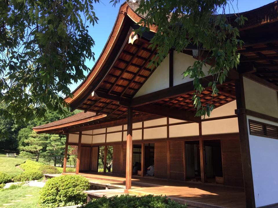 Shofuso House and Garden.