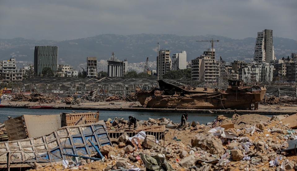 Aftermath of Beirut's deadly explosion