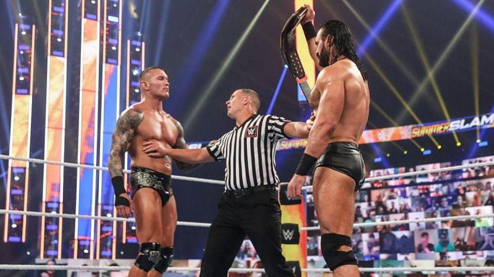 Drew McIntyre defended the WWE Championship against Randy Orton for the second consecutive PPV.