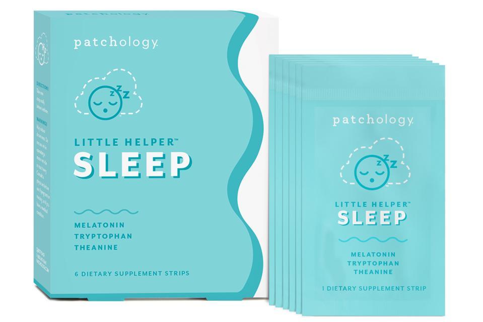 Patchology Little Helper® Supplement Strips: Sleep melatonin insomnia natural