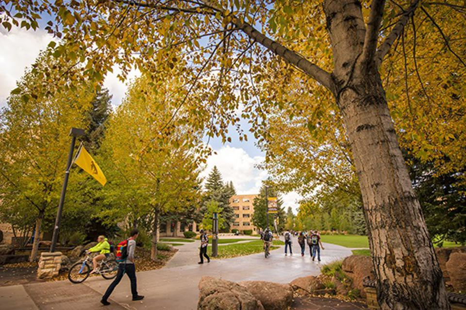 University of Wyoming fall colors