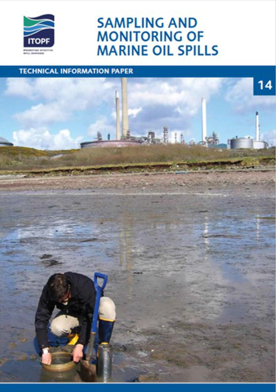 Cover of the famous TIP14 paper that gives all the details for how oil sampling should be conducted