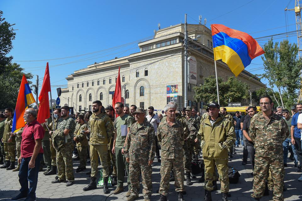 Martial law and general mobilization declared in Armenia over Nagorno-Karabakh conflict