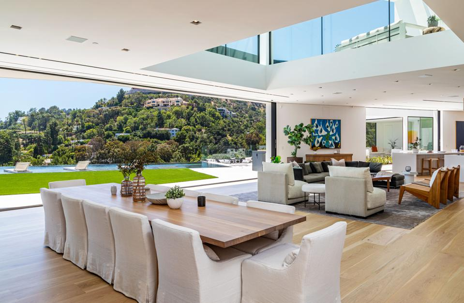 John Legend, Chrissy Teigen, Beverly Hills, contemporary, luxury real estate