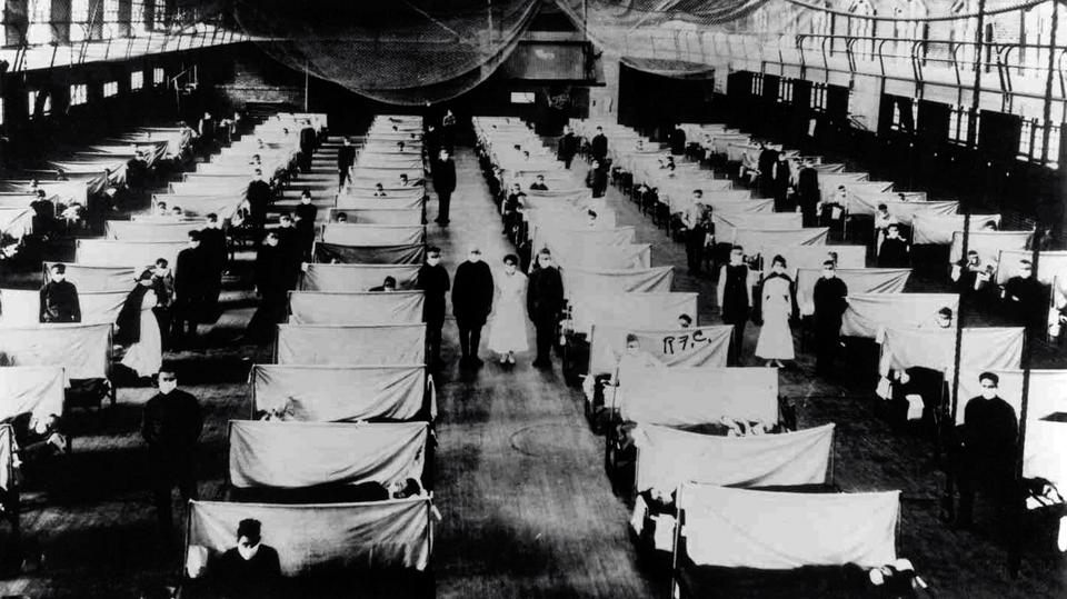 Warehouses that were converted to keep the infected people quarantined.