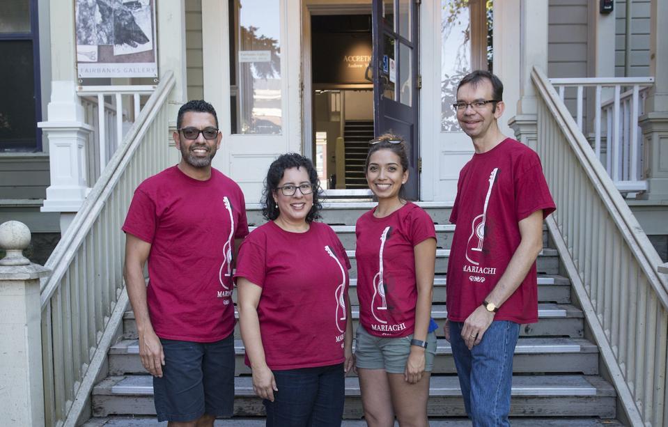 Mariachi STEAM's founding team