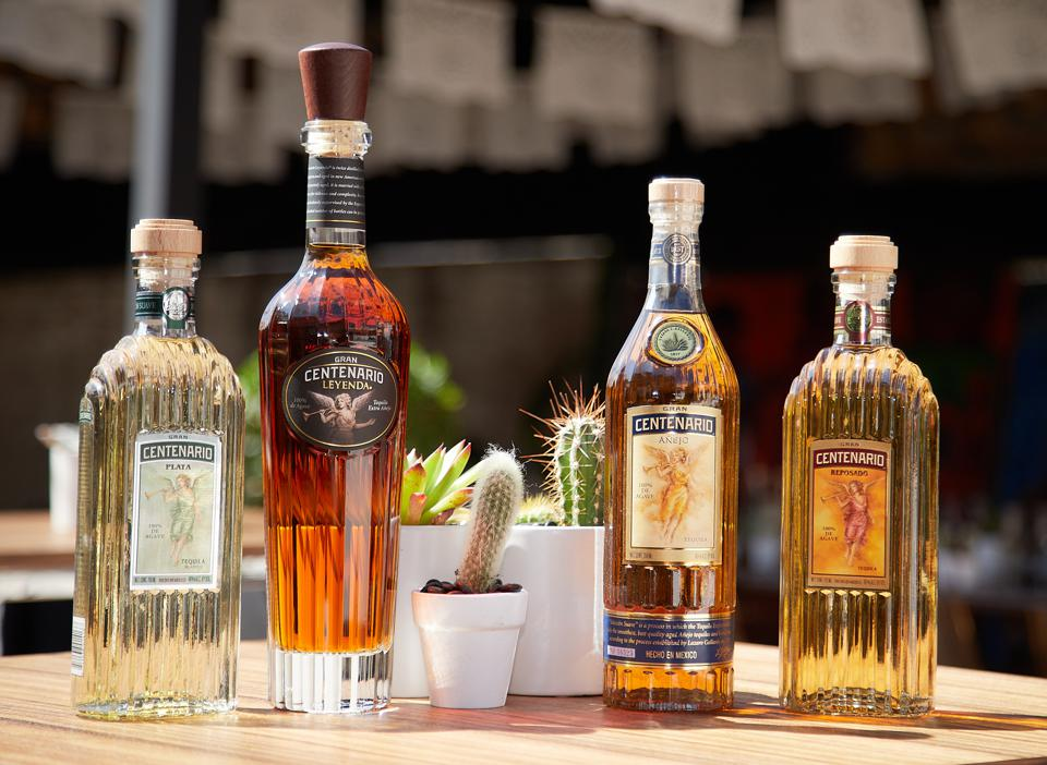 The Gran Centenario family of products.