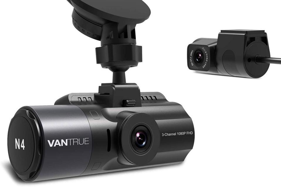 Vantrue OnDash n4 dash cam system.