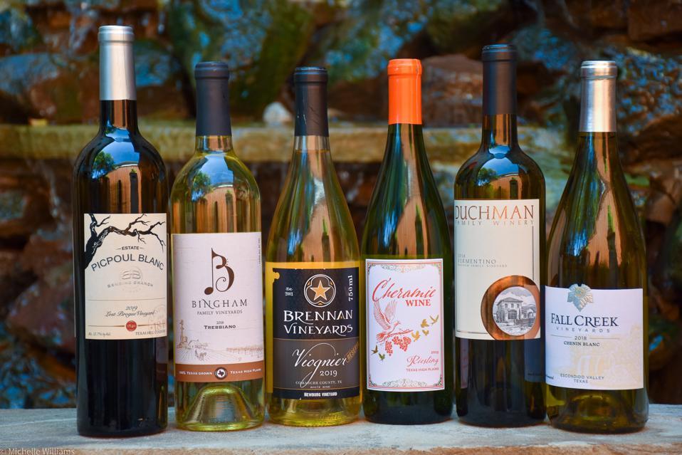 Texas white wines