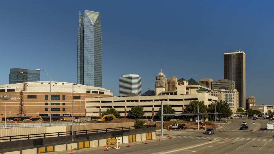 Oklahoma City Skyline, Oklahoma