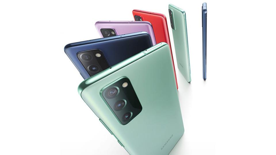 Samsung's Galaxy S20 FE (Fan Edition) smartphone comes in a range of 6 colors.