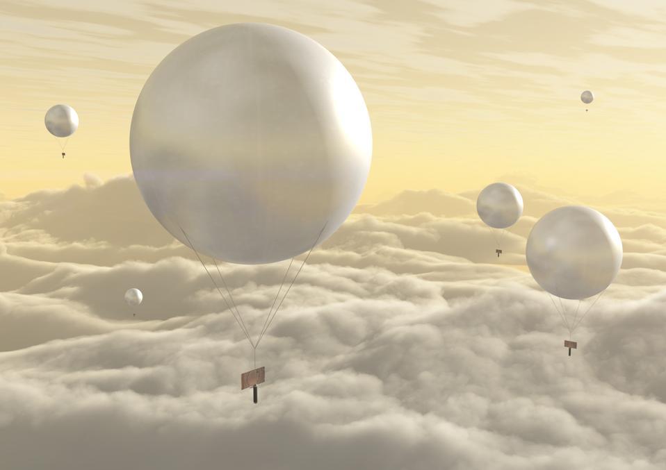 Venus balloon mission