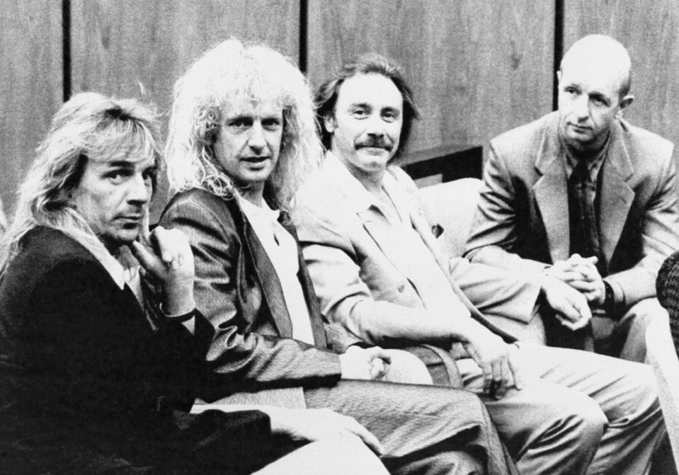 Judas Priest in Court, 1990